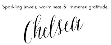 SPARKLING SEAS, GEMS AND GRATITUDE - 17font