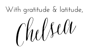 with latitude and gratitude