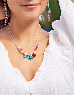 multicolored-necklace-earrings-jewelry-set
