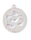 silver ohm charm