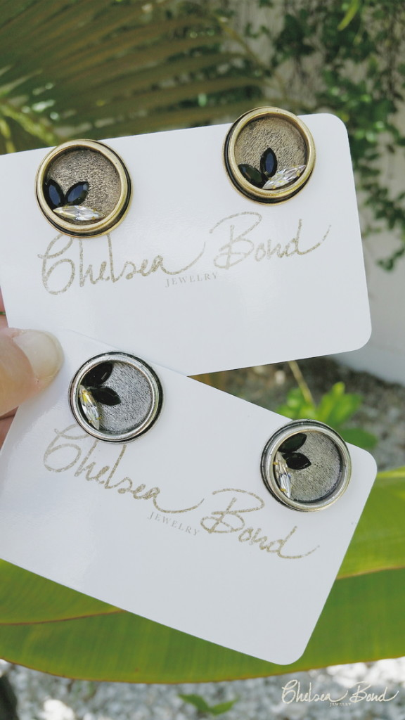 Fathers Day gift cufflinks by Chelsea Bond Jewelry