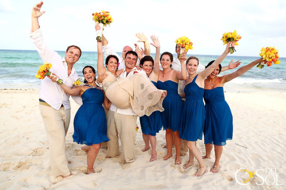 BRIDESMAID BAREFOOT JEWELRY - CHELSEA BOND JEWELRY - BEACH WEDDING MEXICO