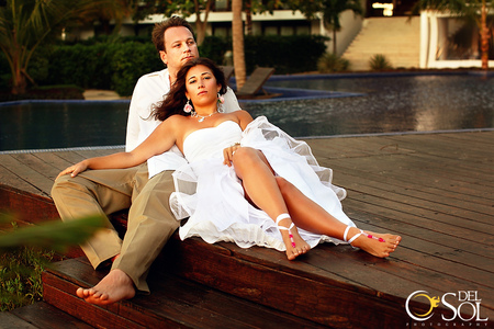 Trash the dress with Chelsea Bond and Del Sol Photography in Mexico-2