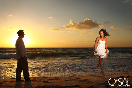 Trash the dress with Chelsea Bond and Del Sol Photography in Mexico-3