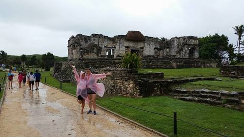 We still had an amazing experience in Tulum even in torrential rain.