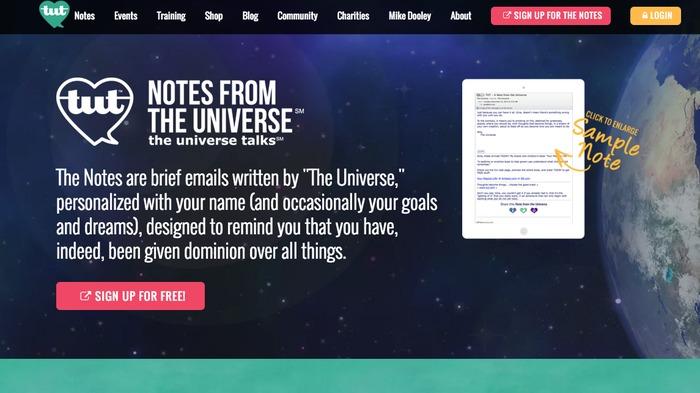 Tut the universe