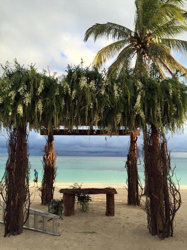 Beach wedding at Secrets Akumal Riviera Maya.