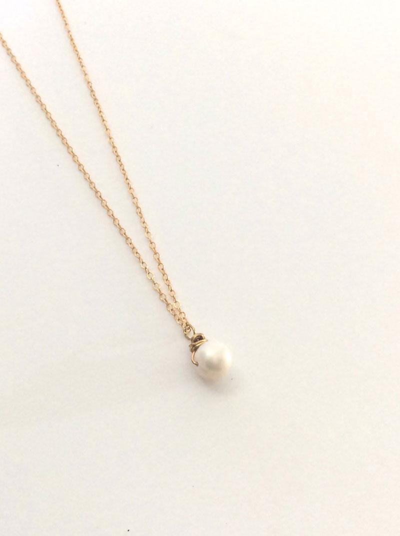 Pearl Necklaces Costco Source · Single Pearl Necklace Gold Chain Single  Pearl Necklace