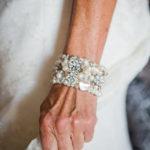 pearl wedding bracelet with pearls