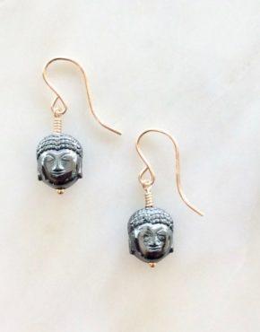 thai buddha earrings