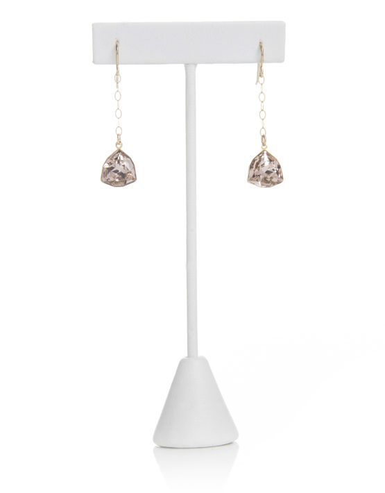 Grace Earrings, Swarovski Dangle Earrings at Chelsea Bond Jewelry