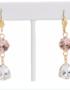 Monaco Earrings, Swarovski Crystals Earrings at Chelsea Bond Jewelry