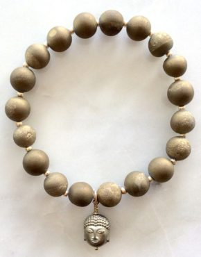 Thai Sunrise Buddha Bracelets, Stretch Bracelets at Chelsea Bond Jewelry