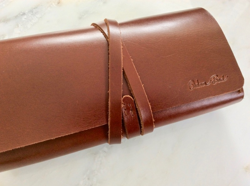 leather jewelry roll