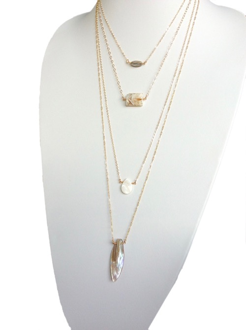 Isla necklace Top models Luxury USA designer jewelry online