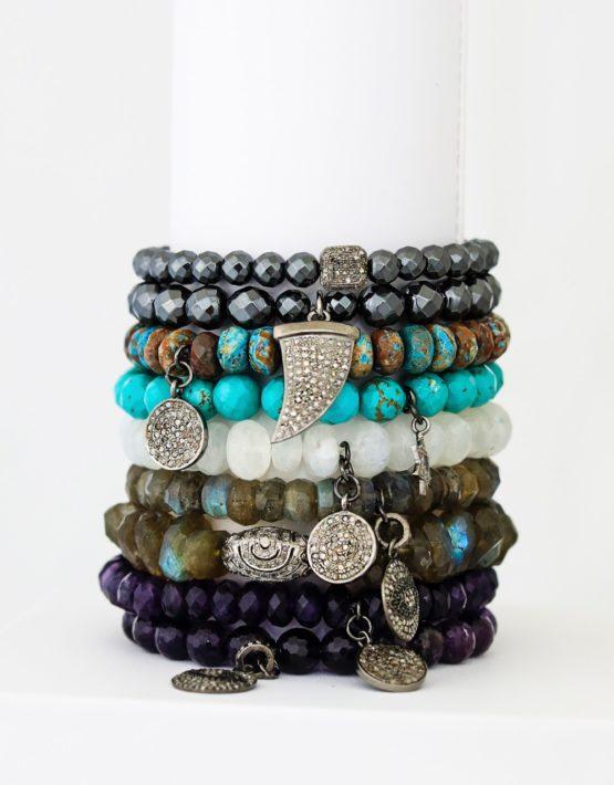 diamond bracelet stack