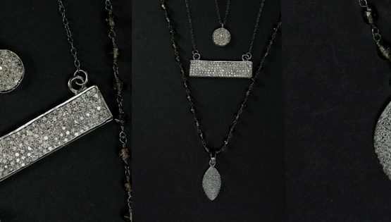 how to wear diamond necklaces