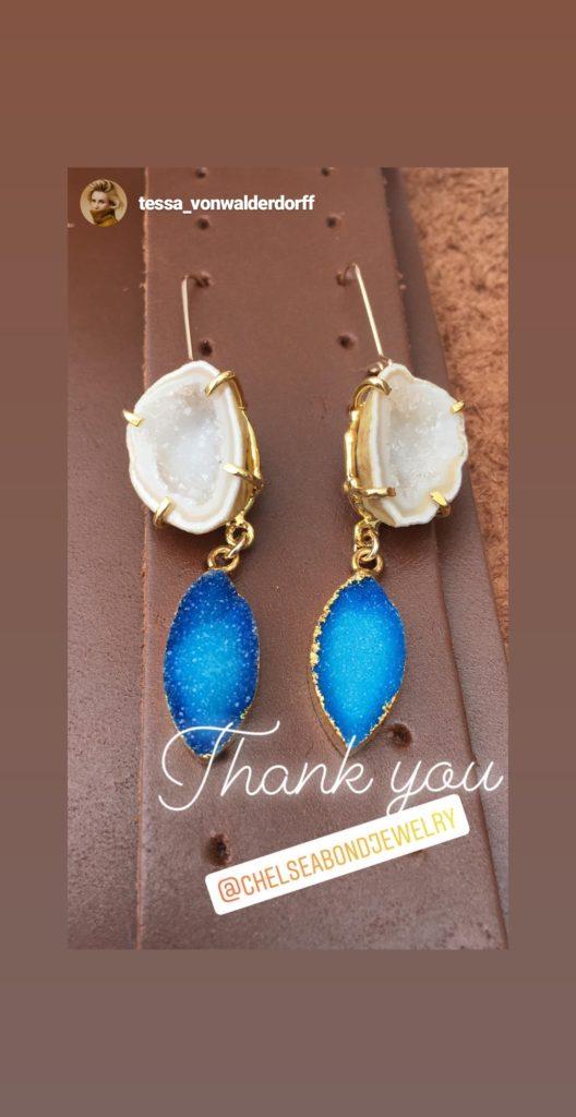 Chelsea bond jewelry earrings