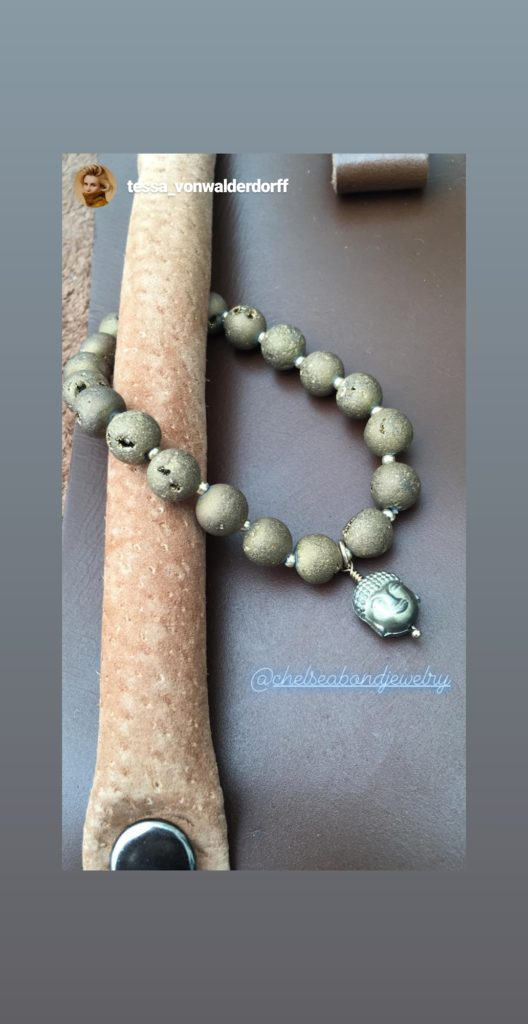 buddha bracelet Chelsea bond jewelry