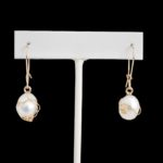 dressy earrings with pearls