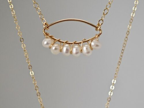 pearl necklace gift