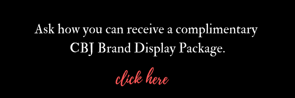 Complimentary CBJ Brand Display Package