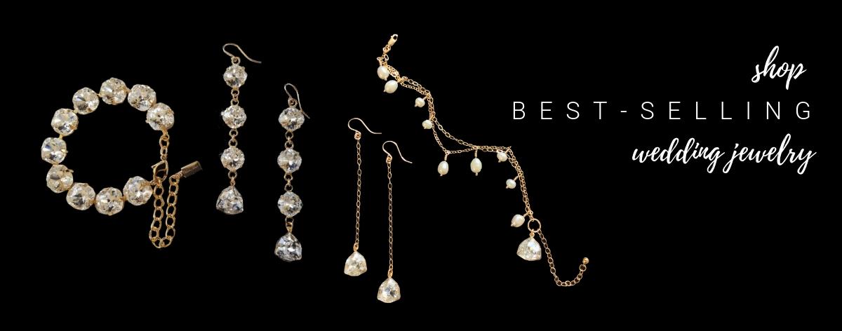 gold wedding jewelry