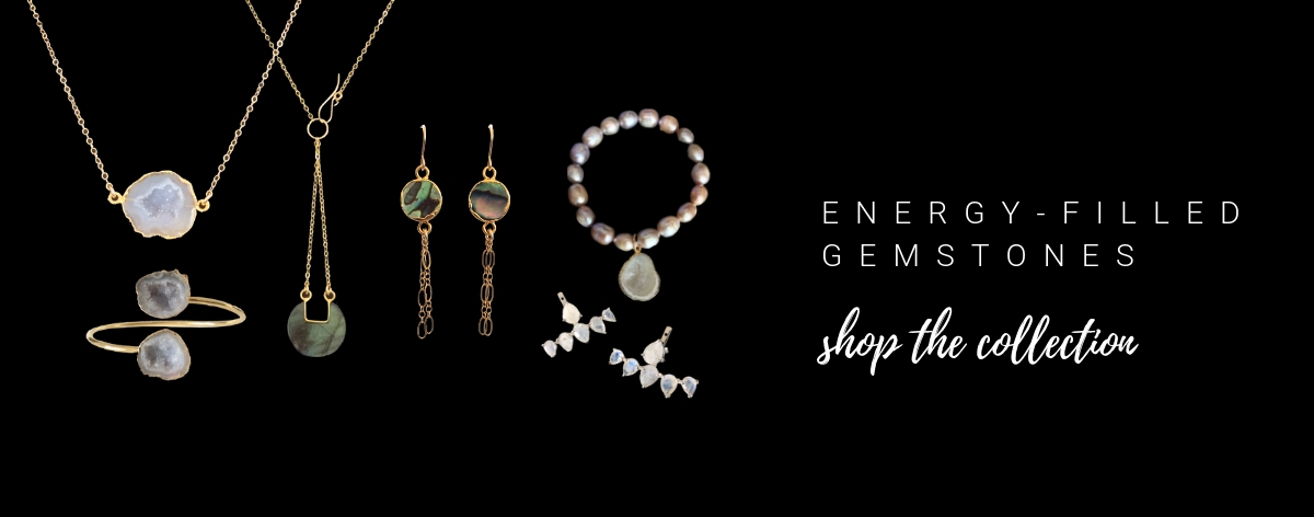 Handcrafted Gemstone Spa Jewelry Inspired by Travel and Positive Energy