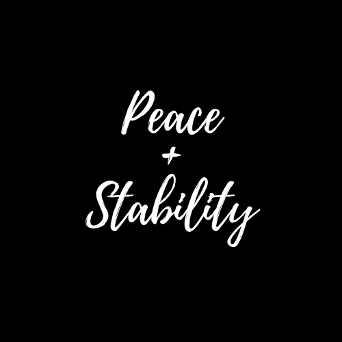 peace and stability jewelry
