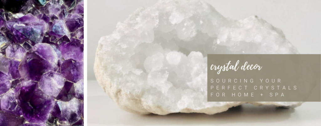 healing crystal decor