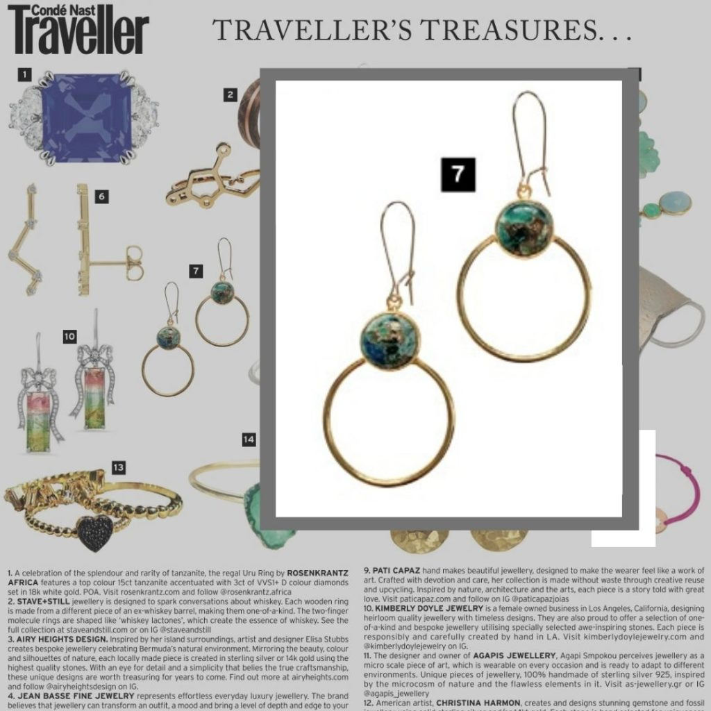 chelsea bond jewelry in conde nast jewelry