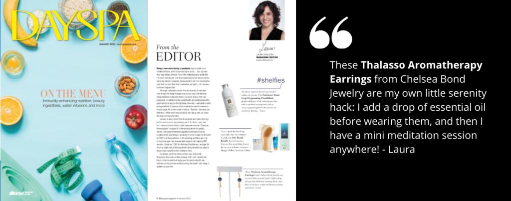 chelsea bond jewelry in dayspa magazine