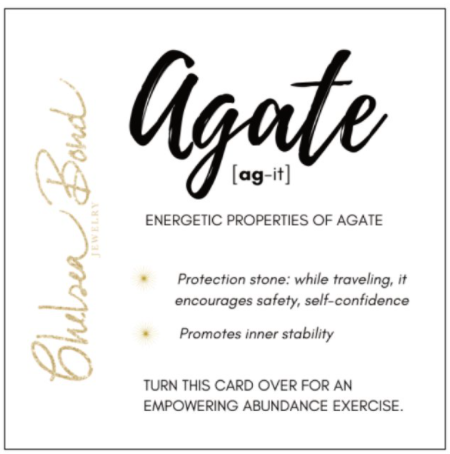 energy of agate